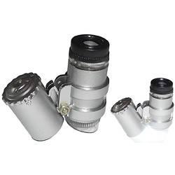 Microscopio ottico portatile con luce led 60X