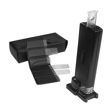 Microscopio portatile 100X con luce