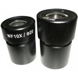 Coppia oculari 15x per microscopio steroscopico