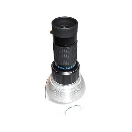 Microscopio 30x + cannocchiale