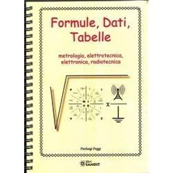 FORMULE, DATI, TABELLE