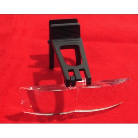 Lente clip rettangolare - 3X