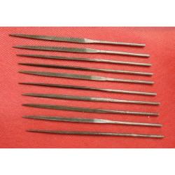 Set 10 micro lime di precisione per metallo
