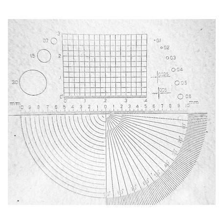 Lente 8x con reticolo