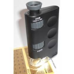 Microscopio portatile con luce led