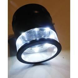 Lente 10x con reticolo e luce LED
