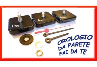 Meccanismi al quarzo da parete - Orologi e lancette